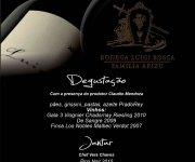 Convite Luigi Degustação